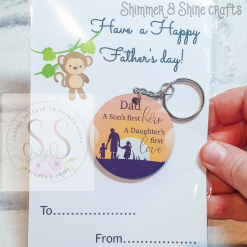Dad quote keyring/magnet 14