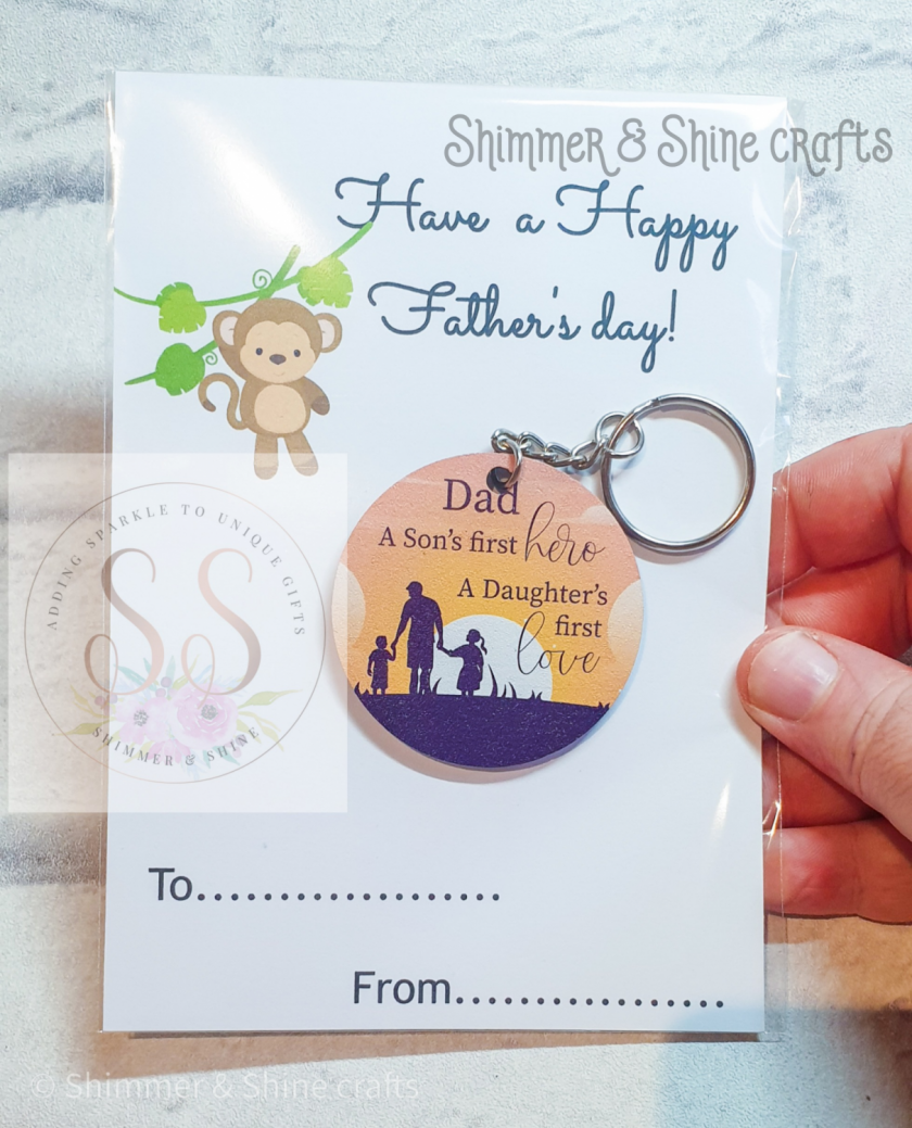 Dad quote keyring/magnet 3