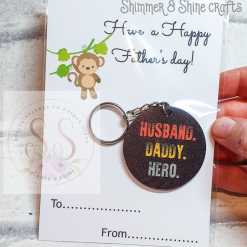 Dad quote keyring/magnet 15