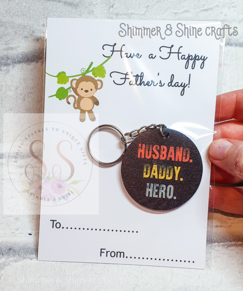 Dad quote keyring/magnet 4