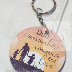 Dad quote keyring/magnet 21