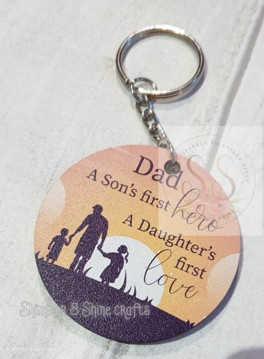 Dad quote keyring/magnet 10