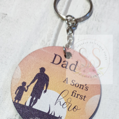 Dad quote keyring/magnet 18