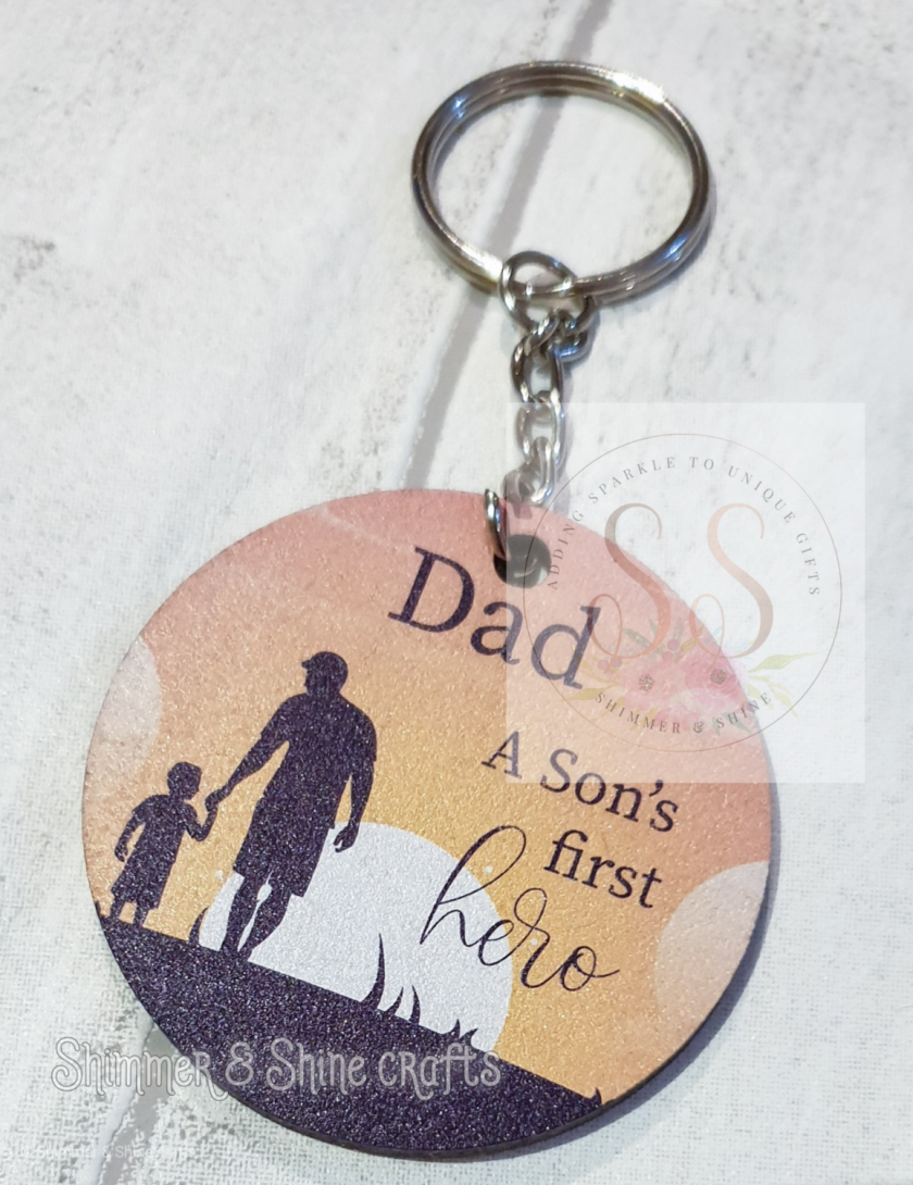 Dad quote keyring/magnet 7