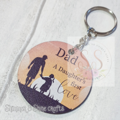 Dad quote keyring/magnet 19