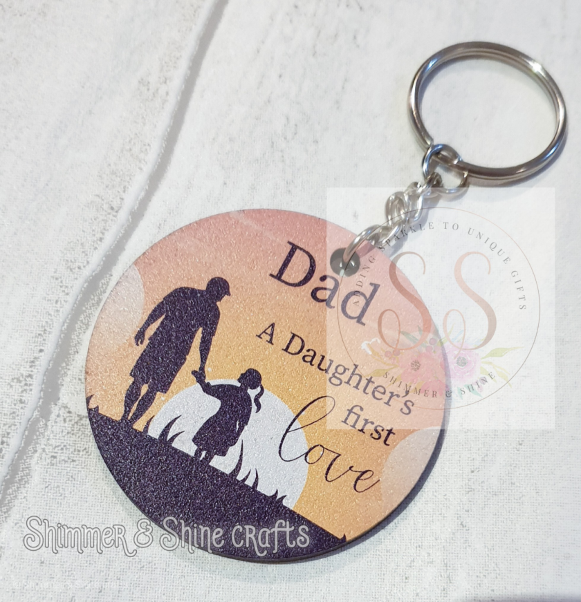 Dad quote keyring/magnet 8