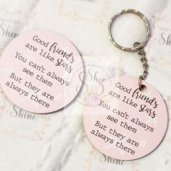 Friendship quote keyrings & magnets 9