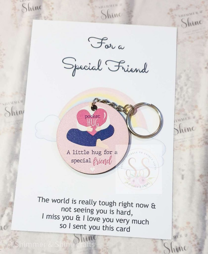 Friendship quote keyrings & magnets 4