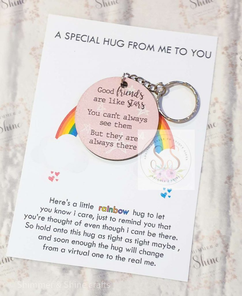 Friendship quote keyrings & magnets 5