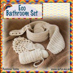 Eco Bathroom Set - crochet pattern 11