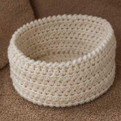 Eco Bathroom Set - crochet pattern 4