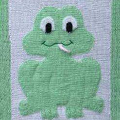 Animal Baby Afghans - crochet patterns