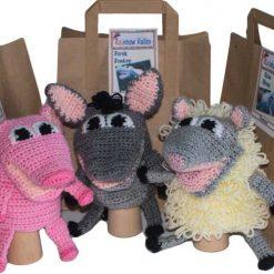 Farm Puppet Crochet Kits