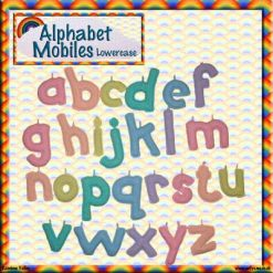 Alphabet Mobiles crochet patterns