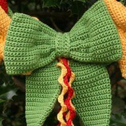 Hearts & Stars Wreath - crochet kit 12