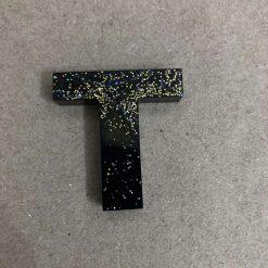 Resin letter X key chain or plain