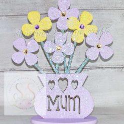Personalised flower vase