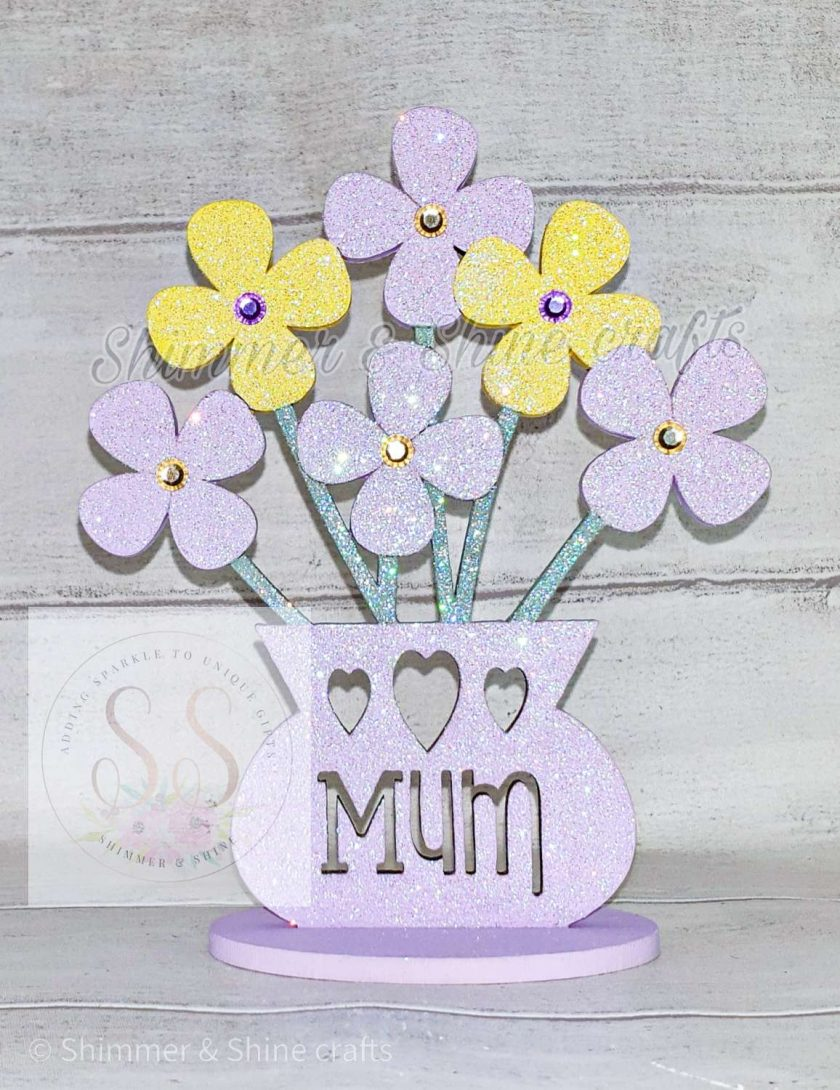 Personalised flower vase 1