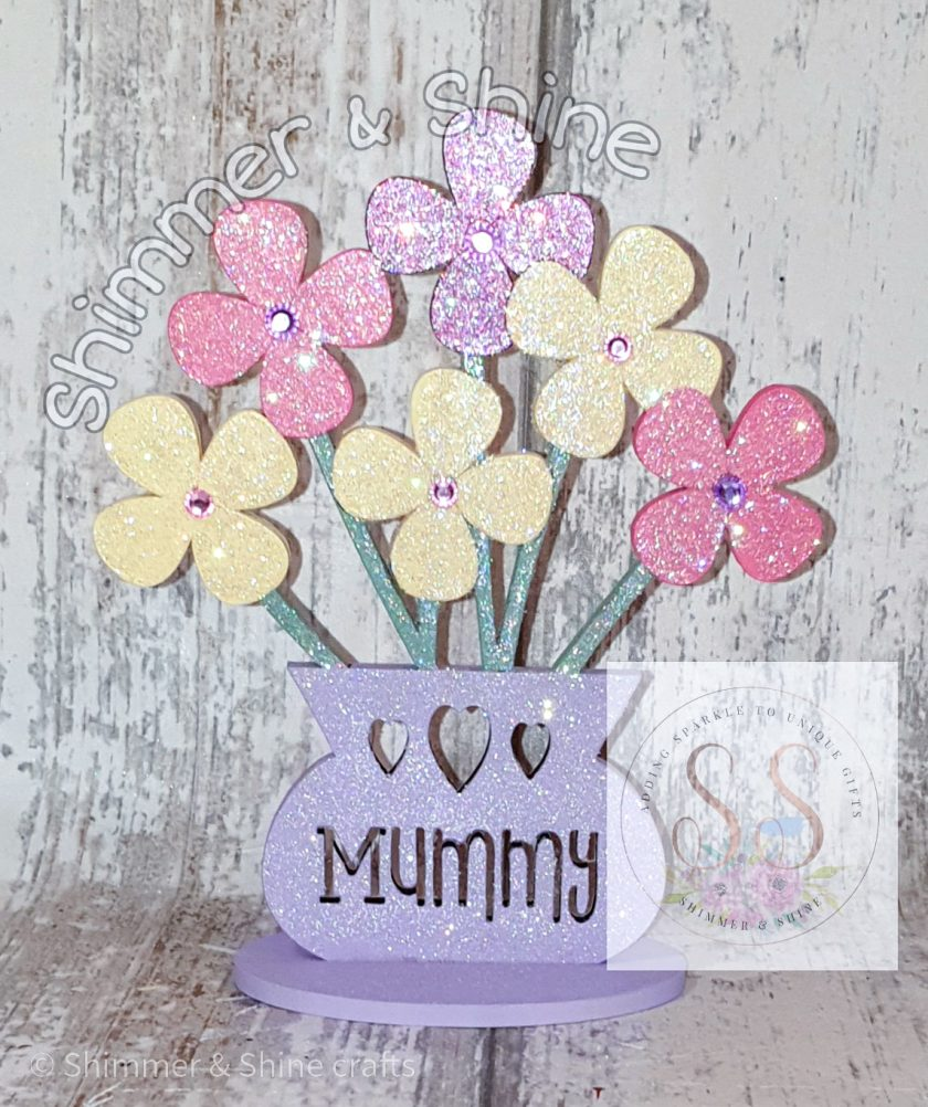 Personalised flower vase 2