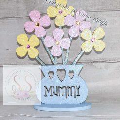 Personalised flower vase 11