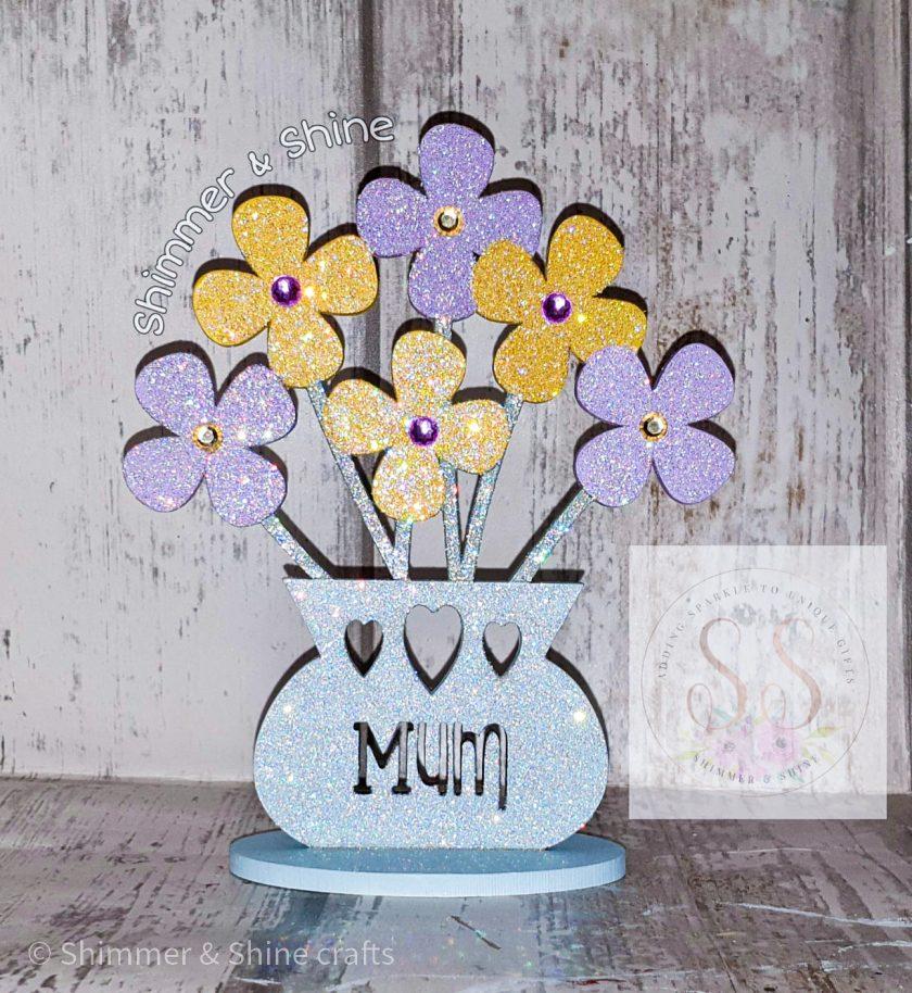 Personalised flower vase 4