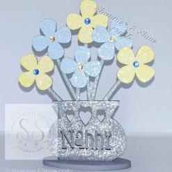 Personalised flower vase 13