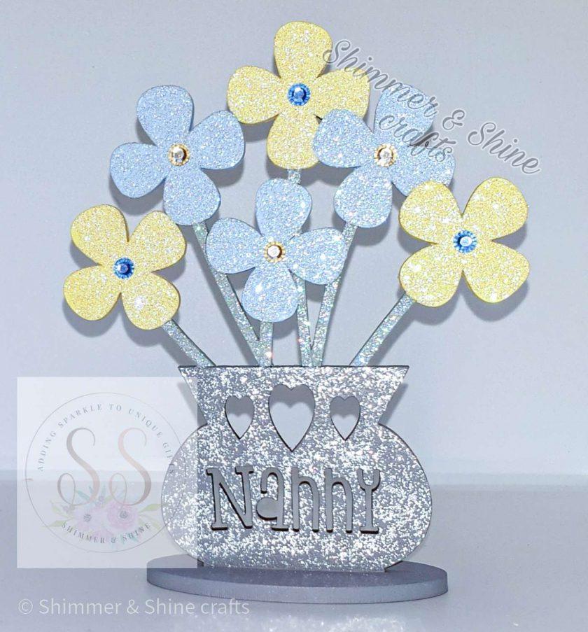 Personalised flower vase 5