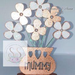 Personalised flower vase 14