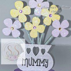 Personalised flower vase 15