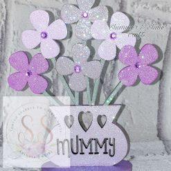 Personalised flower vase 16