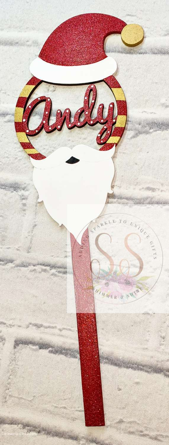 Personalised Christmas wands 2