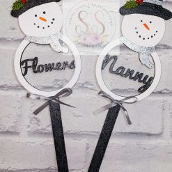 Personalised Christmas wands