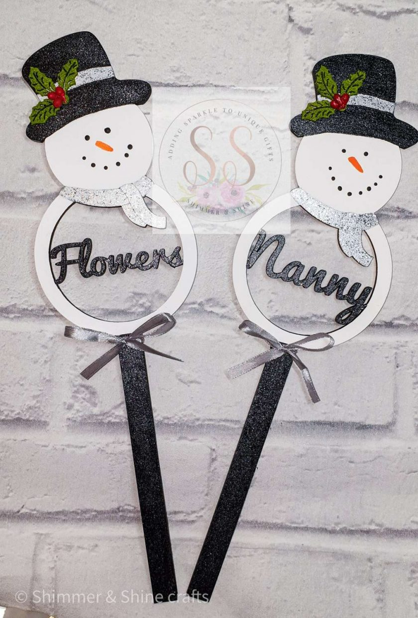 Personalised Christmas wands 1
