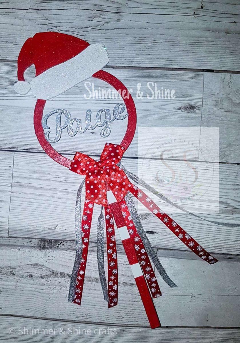 Personalised Christmas wands 3