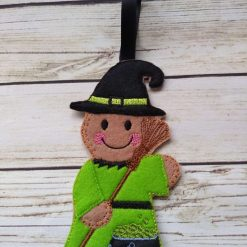 Halloween witch Gingerbread decoration -Halloween fridge Magnet 3