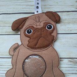 Pug dog gifts, pug dog treat bag 4