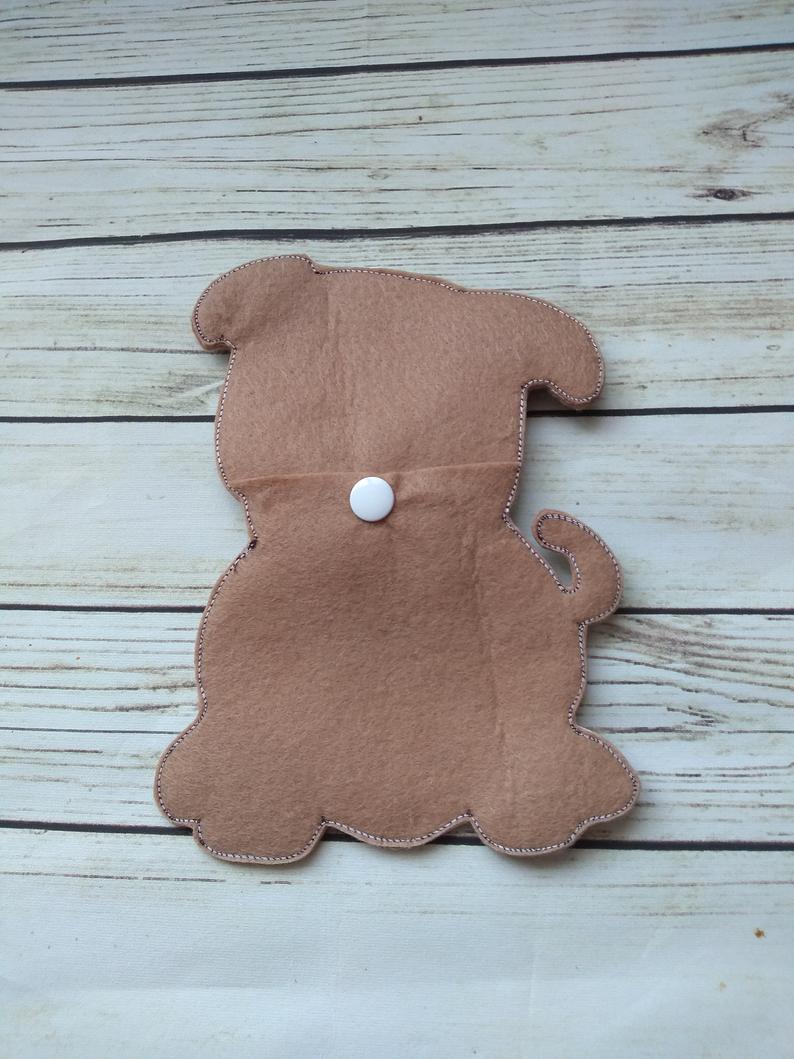 Pug dog gifts, pug dog treat bag 3