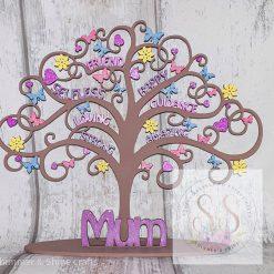 Freestanding mum tree