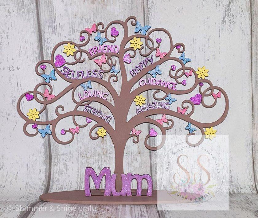 Freestanding mum tree 1