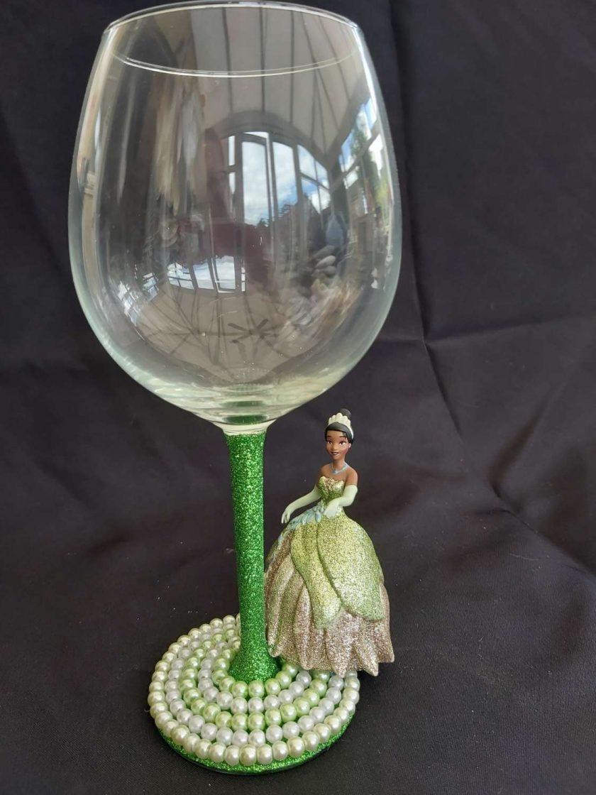 Tiana Character wine glass 1