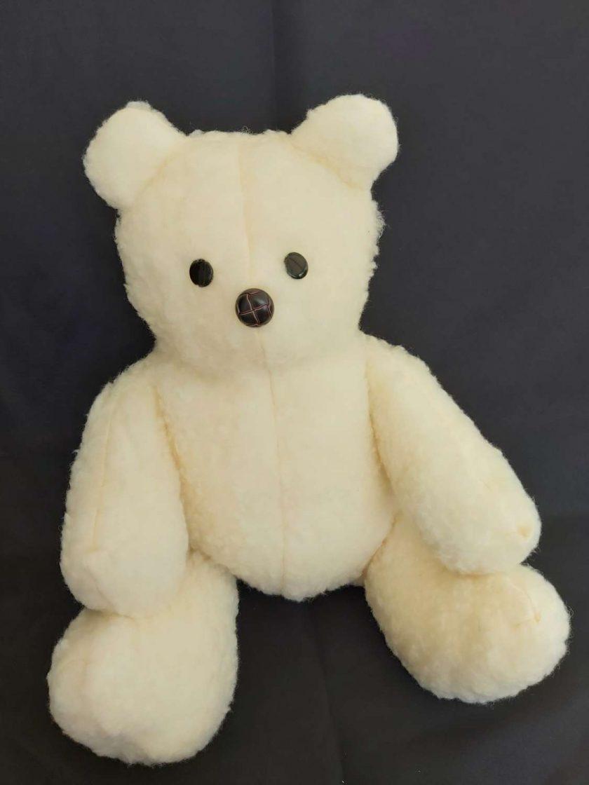 Cream teddy bear 1