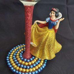 Snow white, wine glass 3