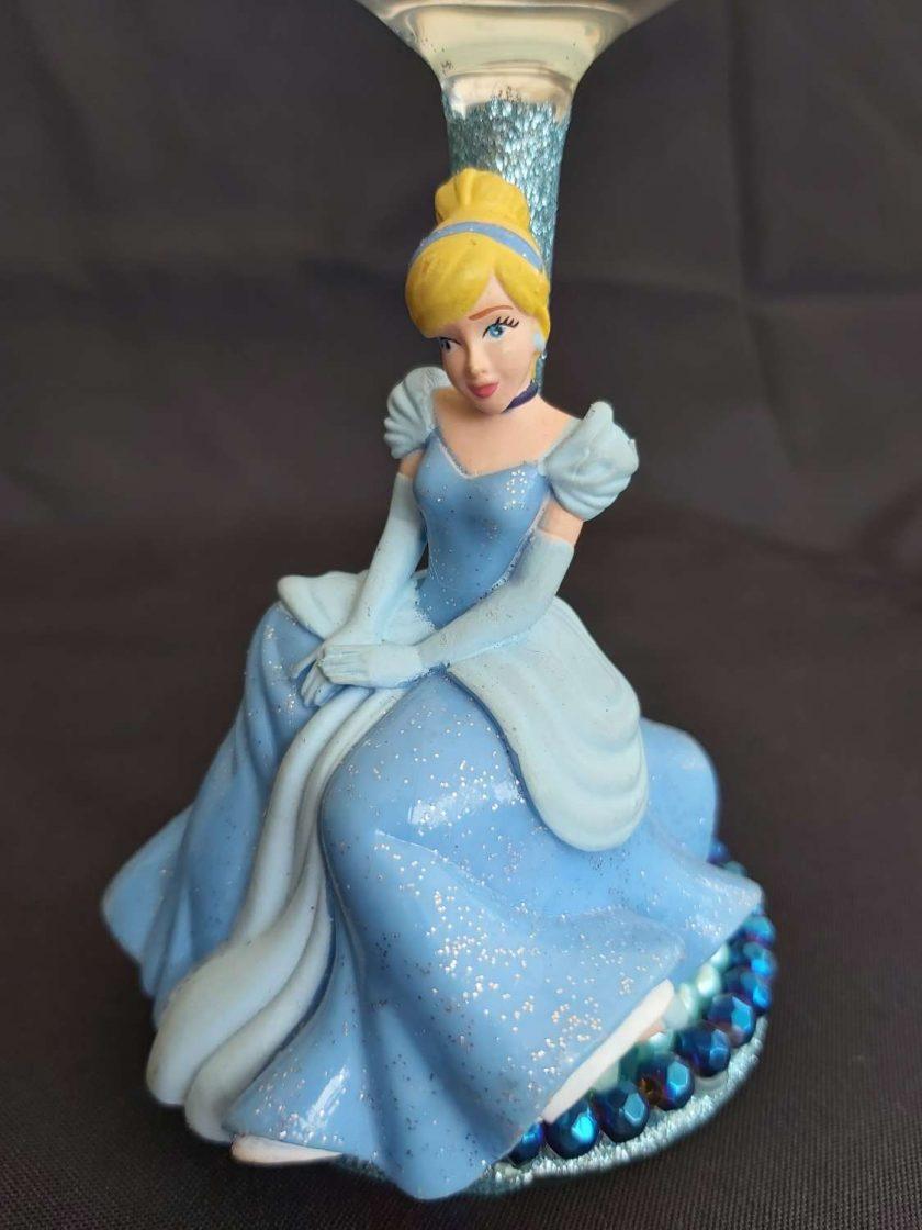 Cinderella wine glass 2