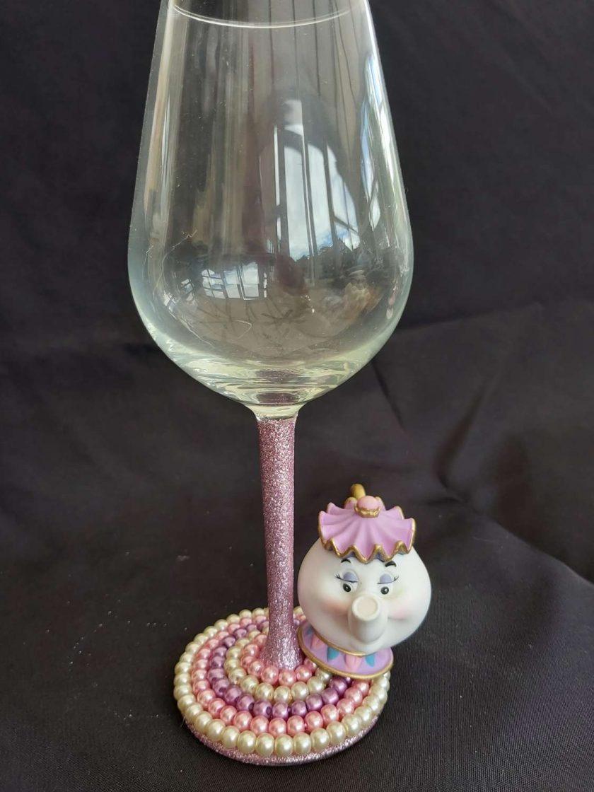 Mrs Potts wine glass 1
