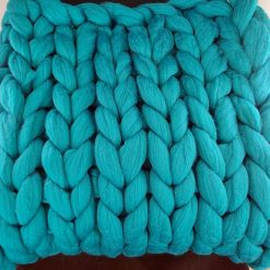 Comfy Lap blanket / Bed runner / jumbo yarn / arm knitted 24
