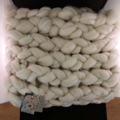 Comfy Lap blanket / Bed runner / jumbo yarn / arm knitted 25