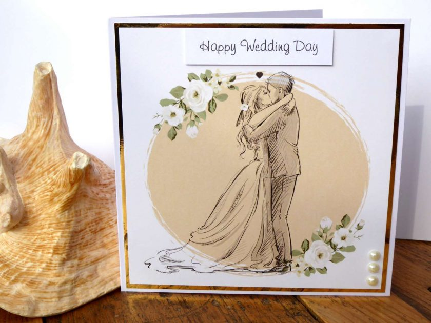 C3486 - Happy Wedding Day Card 1