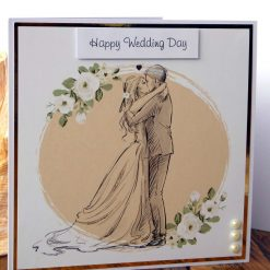 C3486 - Happy Wedding Day Card 8