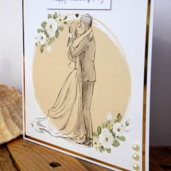 C3486 - Happy Wedding Day Card 9