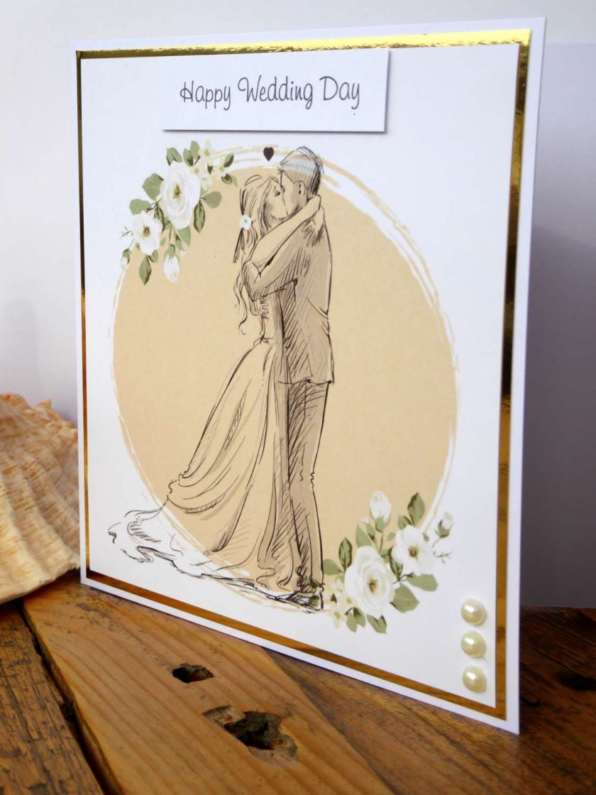 C3486 - Happy Wedding Day Card 4